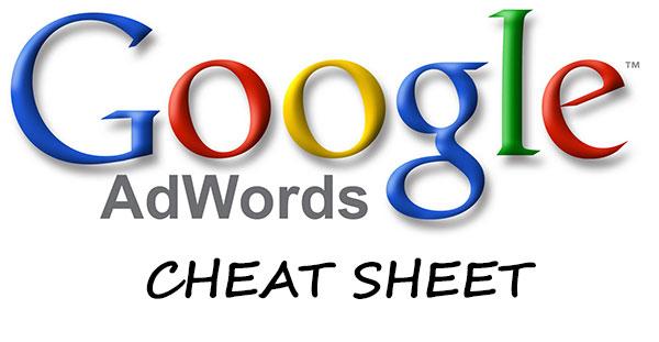 Google AdWords Cheat Sheet